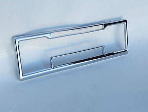Chrome bezel face plate for mercedes Porsche classic Becker Europa car radio