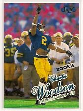 1998 CHARLES WOODSON ULTRA ROOKIE OAKLAND RAIDERS MICHIGAN WOLVERINES ROSE BOWL