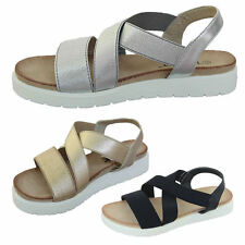 Strappy Block Synthetic Leather Casual Shoes for Women