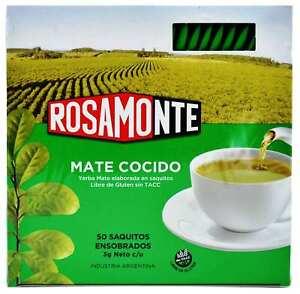 Rosamonte Traditional Yerba Mate Tea 50 teabags   $0.24/teabag   Argentina