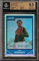 2007 Bowman Chrome Prospects Refractors #BC121 Henry Rodriguez #359/500 BGS 9.5