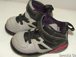 NIKE Air Jordan Flight Club 5C 21 gray pink purple 555330-028 shoes high tops