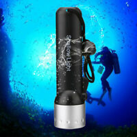 1200LM CREE Q5 LED Light Dive Flashlight Underwater Torch Lamp for Diving Sports
