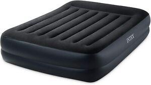 Intex Pillow Rest Raised Luftbett Queen 152 x 203 x 42 cm mit Pumpe