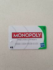 Monopoly REVOLUTION - Replacement BANK CARD (Green)