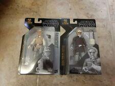Star Wars The Black Series Archive Han Solo &Luke Skywalker Archive 2 figure lot