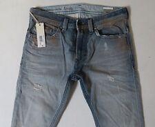 Diesel Men Jeans 29 W x 30 Thavar 827W Distressed Slim Skinny Italy! New w Tags