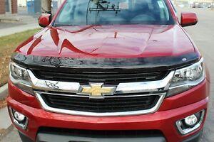 Chevy Colorado Crew Cab 2015 - 2020 Wind Deflector & Bug Shield Combo
