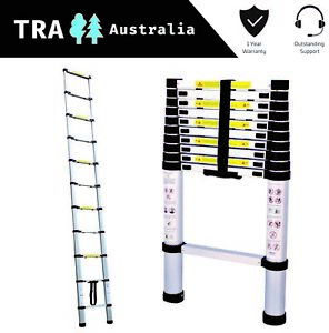 3.2m Portable Telescopic Roof Top Tent Ladder with Carry Bag RV Parts Motor Home