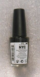 New Store Pull NYC New York Color 272 Bowery Black Nail Polish