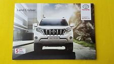 Toyota Land Cruiser Active Icon Invincible 2.8 brochure catalogue July 2016 MINT