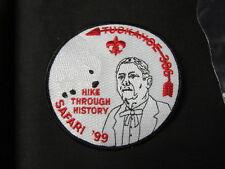 Tuckahoe 386 Safari 1999 Pocket Patch   c50