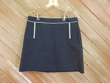 The Limited Skirt Mini Navy Blue Lined Women's Size 6 NWT