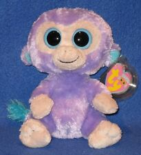 TY BEANIE BOOS BOO'S - BLUEBERRY the MONKEY - MINT with MINT TAGS