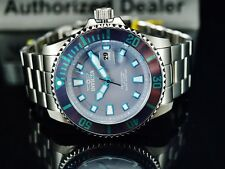 Invicta Men's 44mm Pro Diver Quartz Gray Dial Silver Tone Stainless Steel Watch