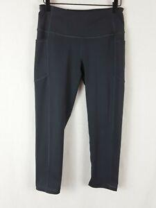 Victoria's Secret Sport Knockout Leggings Medium Capri Gray  Activewear Gym Yoga
