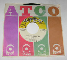 "Genesis 7"" 45 HEAR Your Own Special Way ATCO LABEL In That Quiet Earth US STOCK"