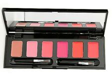SKINN Cosmetics~ Hollywood TROPICAL KISSES Lip Palette~6 shades~2 brushes~ New