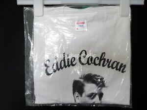 Collectible Eddie Cochran Chippenham T-shirt - Size Medium White - BNIP