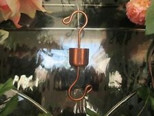 HUMMINGBIRD FEEDER ANT TRAP GUARD MOATS hand crafted of SOLID COPPER ! USA