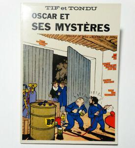 TIF ET TONDU OSCAR ET SES MYSTERES N&B Ed. Lmitée 1000 Ex QUASI NEUF HORUS 1979