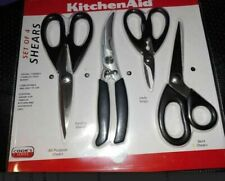 Kitchen Aid COOK'S SERIES Kitchen Shears Scissors Set of 4 NEW In Sealed Package
