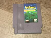 StarTropics Nintendo Nes Cleaned & Tested Authentic
