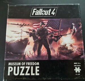 Fallout 4 Jigsaw  Museum Of Freedom Puzzle 1000 Piece. EC
