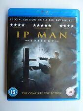 Ip Man + Ip Man 2 + Ip Man 3 Trilogy (Blu-ray 2016, 3-Discs) Donnie Yen