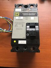 Square D Fal220151202 Thermal Magnetic Circuit Breaker 15A 2 Pole 240V Nice