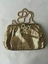 Vintage Whiting and Davis 1930's Art Deco small  bag Glomesh Style Bag