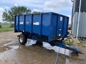 AS Marston 6 Ton Trailer / Grain Trailer Tractor, PLUS VAT. Equine Muck Trailer