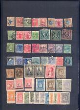 sehr alte exotische Briefmarken auf A4 Steckkarte weltweit 2