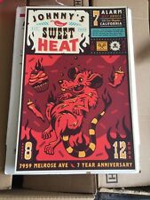 Johnny Cupcakes Posters SWEET HEAT Los Angeles California Melrose 7th Year Anniv
