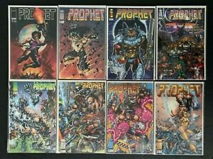 PROPHET FULL SET # 1B,2,3,4,5,6,7,8 (2ND SERIES) IMAGE COMICS 1995-1996 VF/NM