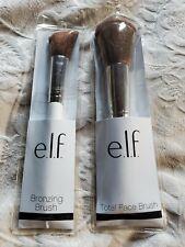Elf Total Face Brush Bronzing Brush New lot