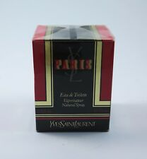 YVES SAINT LAURENT PARIS 75ml EDT Eau de Toilette Spray NEU RAR