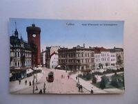 Ansichtskarte Cottbus Kaiser Wilhelmsplatz Sprembergerturm Brandenburg Straßenb.