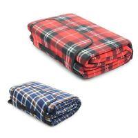 Folding Picnic Blanket Camping Festival Beach Rug Fleece Travel Outdoor Mat