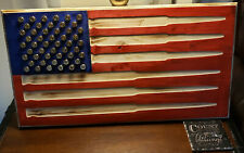 Bullet American Flag 10% donated to Veterans in need