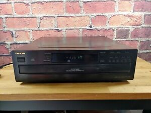 Onkyo DX-C370 CD Player 6 Disc Changer Tested and Working No Remote