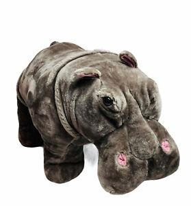 Melissa and Doug Giant XL Hippopotamus Hippo Plush Stuffed Animal Extra Large