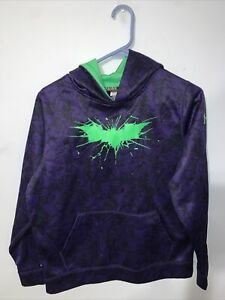 DC Comics/Under Armour Storm - Joker Pullover Hoodie Purple Youth S14 - Preowned