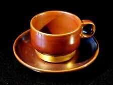Beautiful Retro 1970's Thomas/ Rosenthal Germany Stoneware Coffee Cup And Saucer
