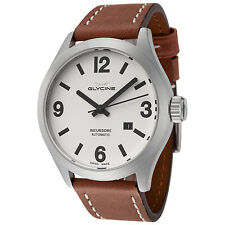 Glycine Men's 3922.111.LB7BH Incursore Automatic 44mm White Dial - GL0044