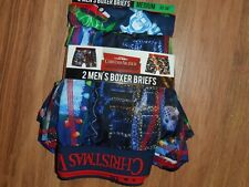2 boxer briefs ~ National lampoon Christmas Vacation movie underwear ~ large