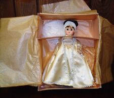 Madame Alexander doll Dolley Madison first lady collection in oroginal box and s