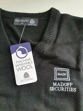 Genuine unworn Madoff v-neck pullover - from London Office - Small