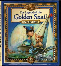 THE LEGEND OF THE GOLDEN SNAIL Graeme Base HCDJ 2010 Illustrated Children's Book