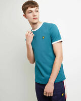 Lyle and Scott Men Ringer T-shirt - Cotton